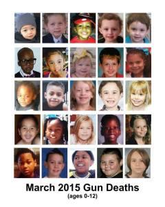 children shot