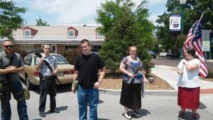 open carry thugs