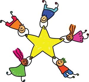 kids and stars