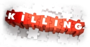 Killing - Text on Red Puzzles.