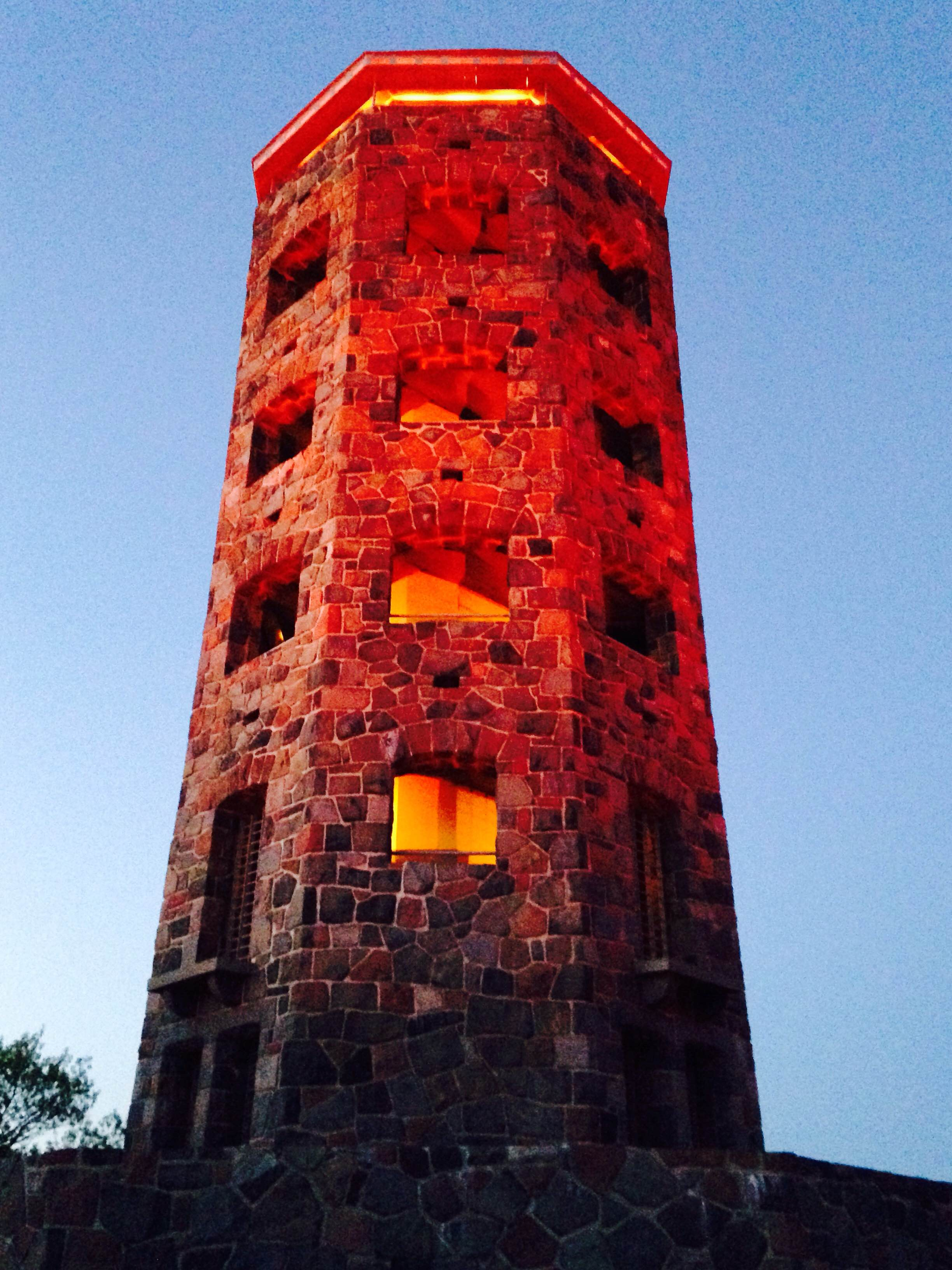 Enger tower orange