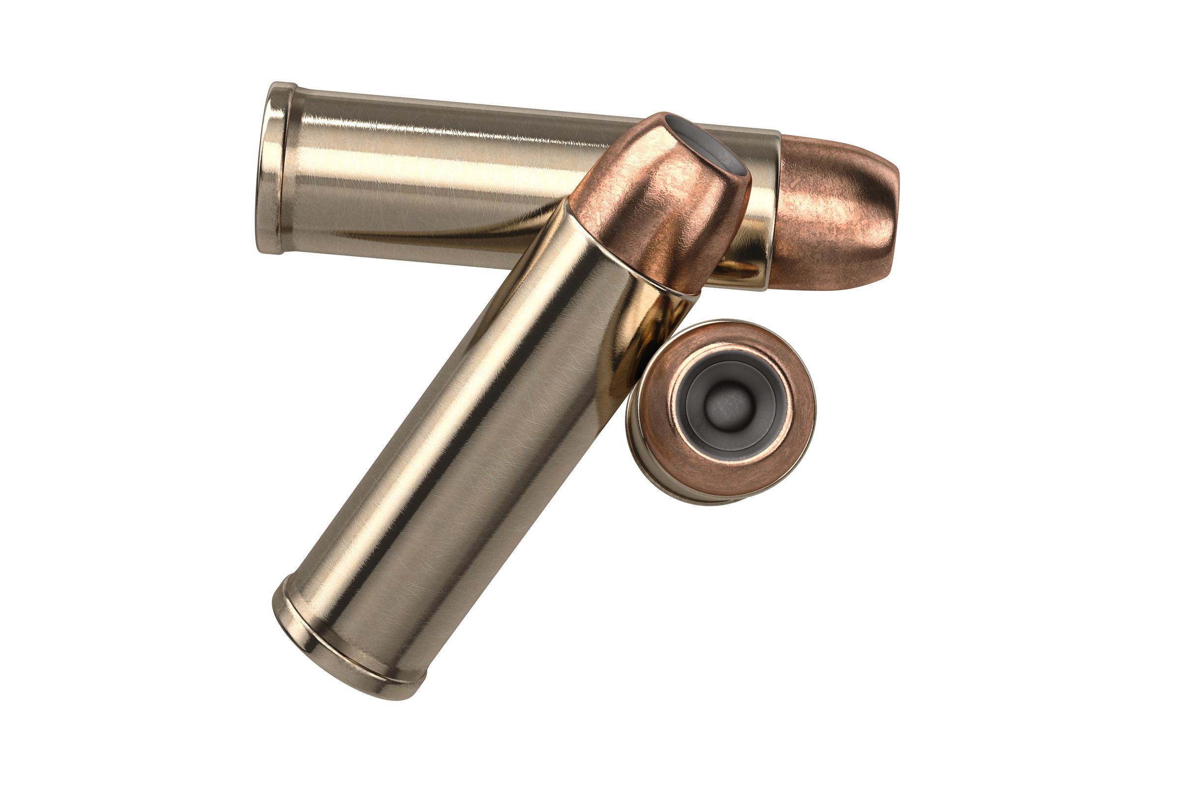 Bullet gun copper