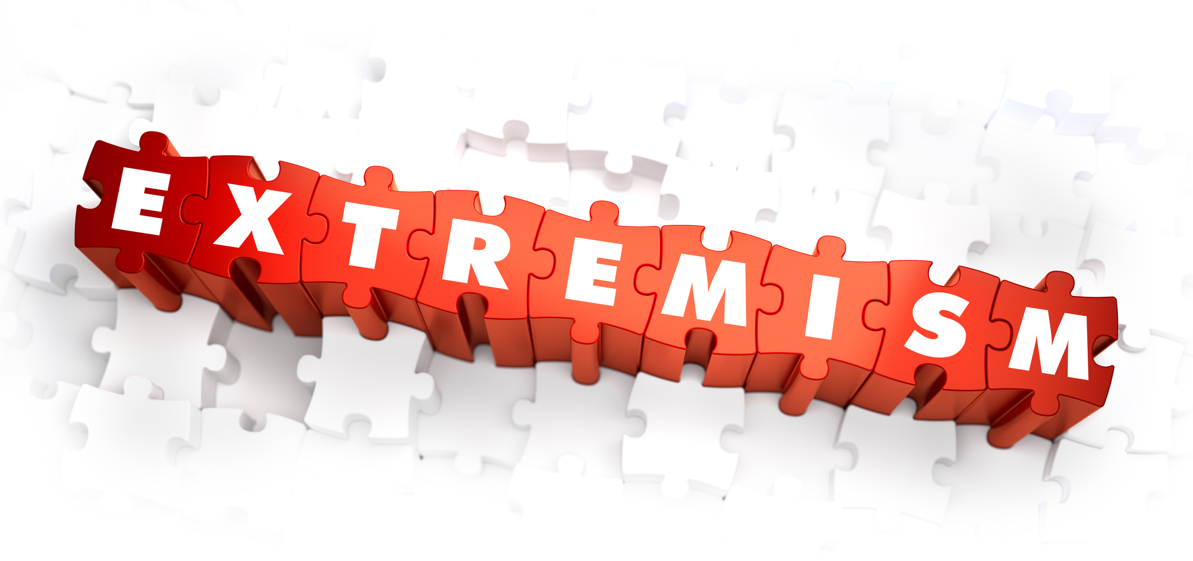 Extremism - Word on Red Puzzles.